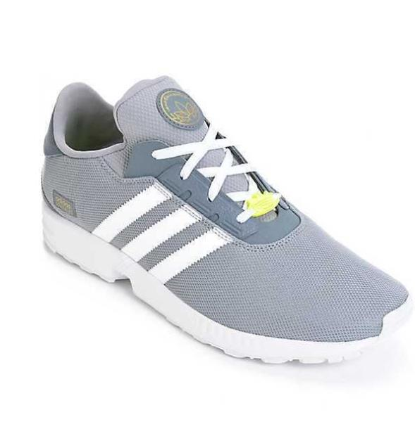 online store bf710 b121d Details about NEW IN BOX MEN'S 13 ADIDAS ZX GONZ GREY WHITE YELLOW MESH  SKATE SHOES