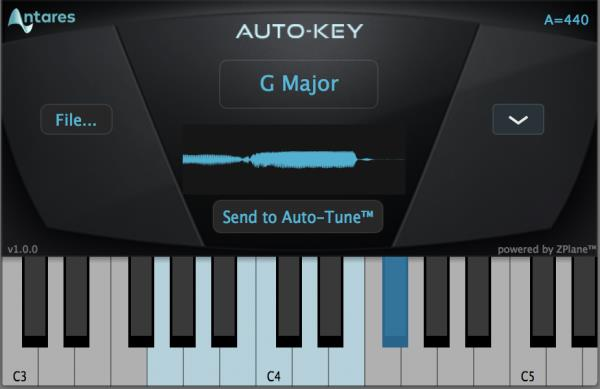 Details about New Antares Auto-Key Automatic Key & Scale Detect Mac PC AAX  VST AU eDelivery