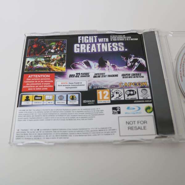 Details about MARVEL VS CAPCOM 3 FATE OF TWO WORLDS - SONY PLAYSTATION 3  PS3 PROMO GAME - MINT