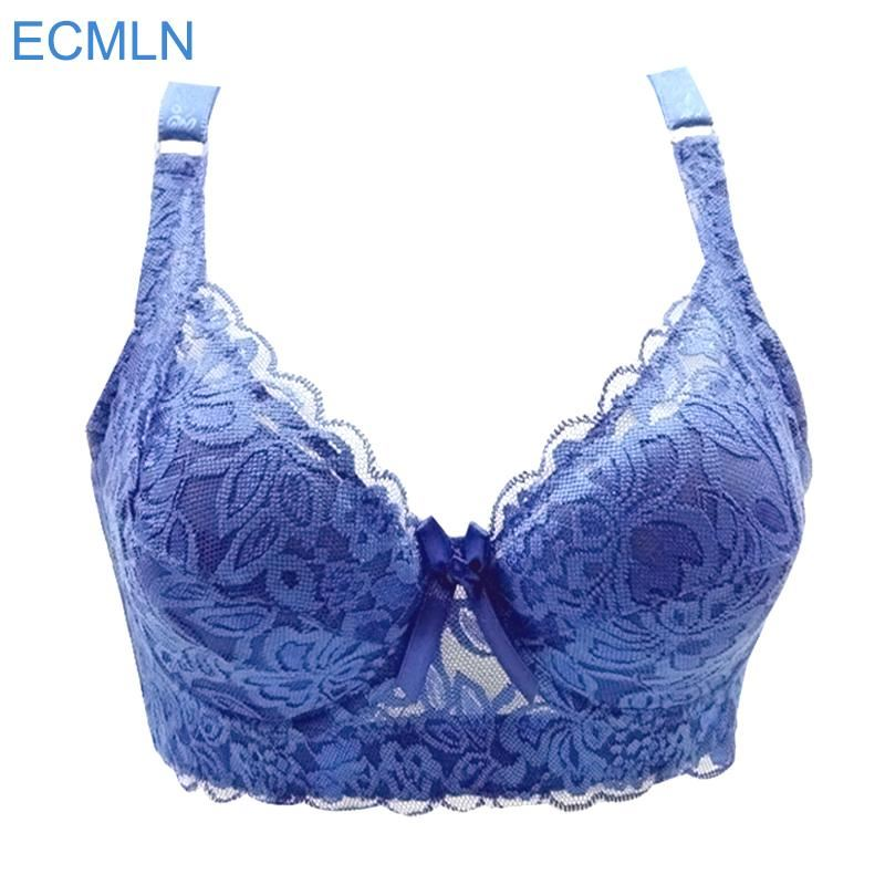 12505ed1f25 Details about Full cup thin underwear small bra plus size wireless  adjustable lace Women s bra
