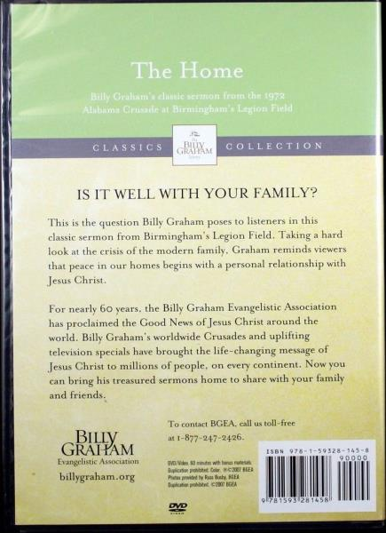 Details about Billy Graham The Home Sermon NEW DVD & Commemorative Edition  Newsweek