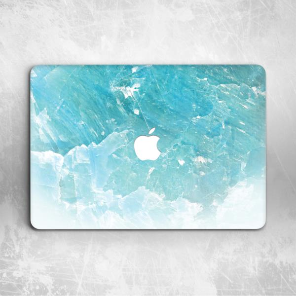 Blue Cracked Marble Hard Cover Case For Apple Macbook Pro Retina Air 11 12  13 15 ac13ad55ca