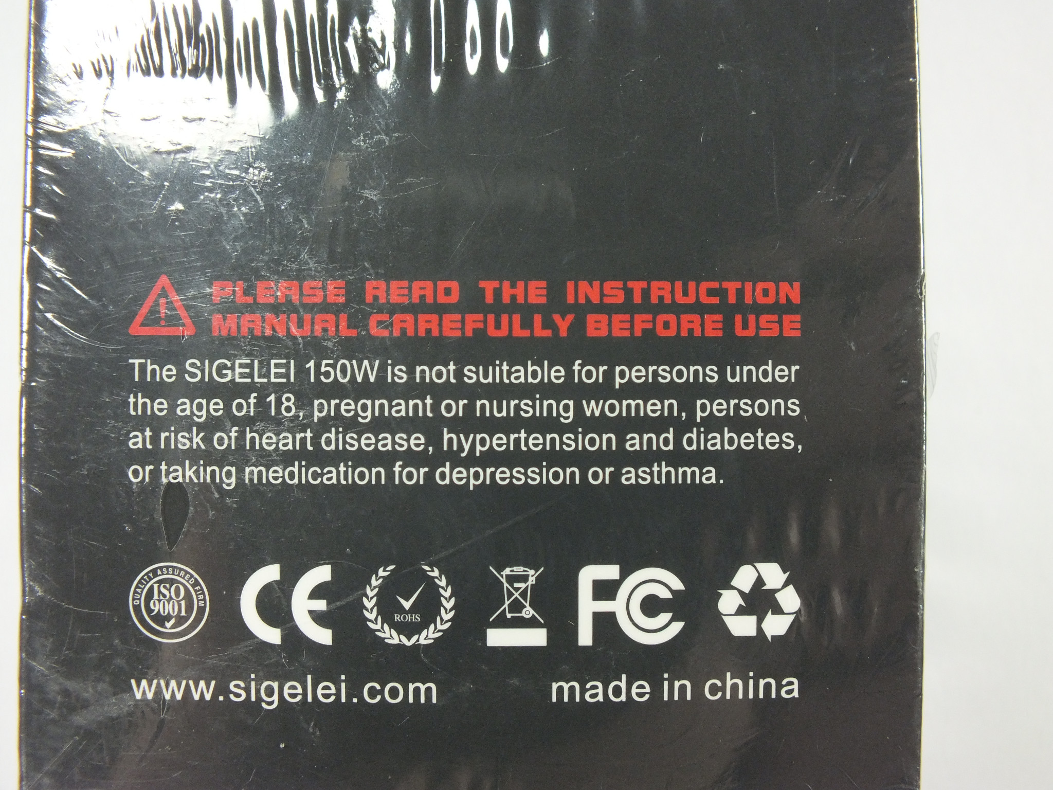 Sigelei 150w TC Temp Control Mod Warranty and Case// Batteries Included!