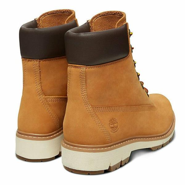 Details about Timberland A1T6U 6in Lucia Way 6 Inch Waterproof Womens Boots Yellow Size