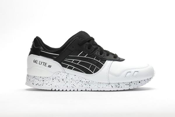 asics gel lyte black and white