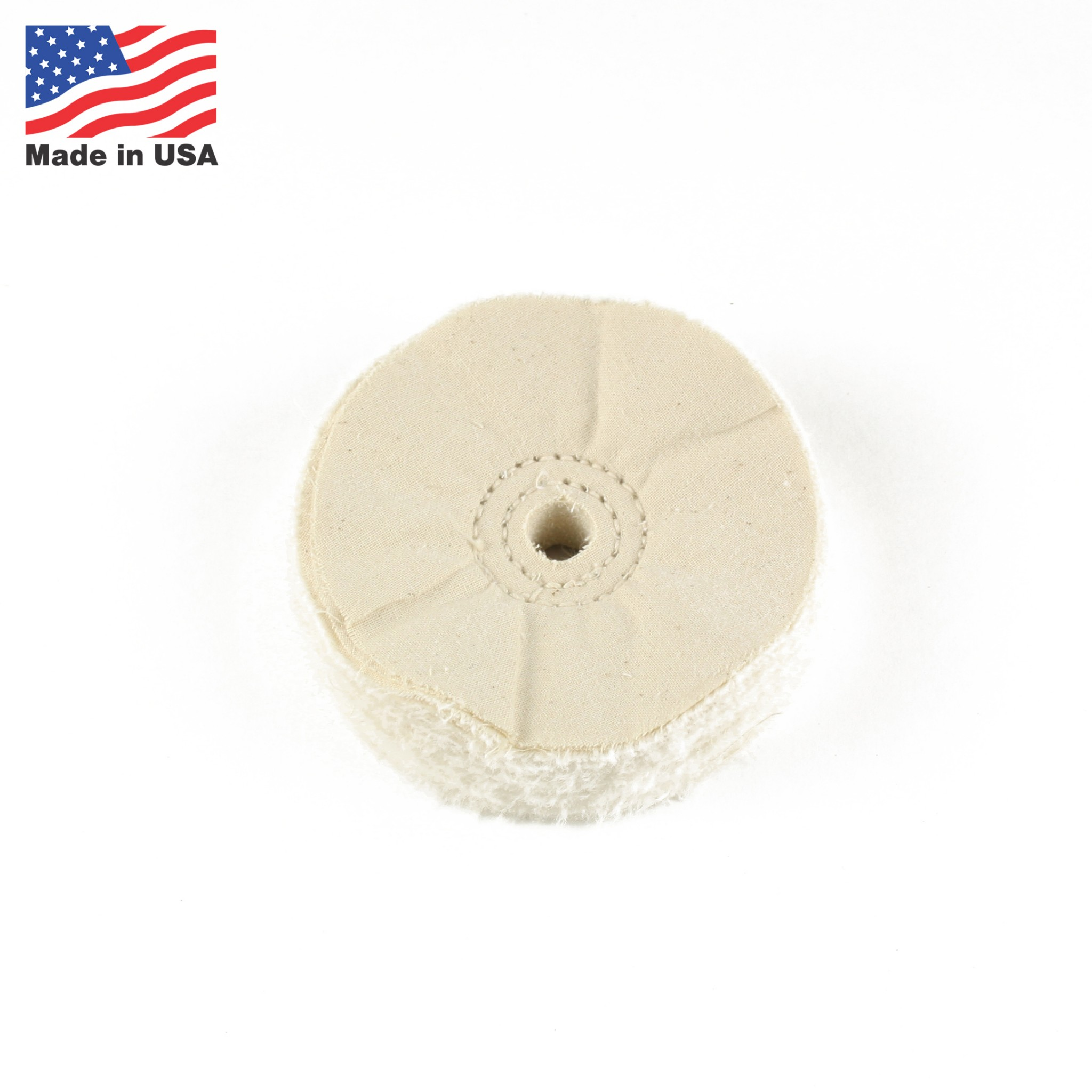 2 Lot of 4 inch Buffing Wheel for Polishing  1//2 inch Arbor