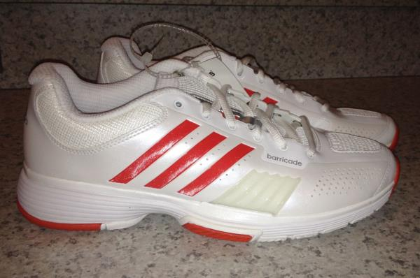 Details about ADIDAS AdiPower Barricade 7 White Core Tennis Shoes Sneakers NEW Womens Sz 10.5