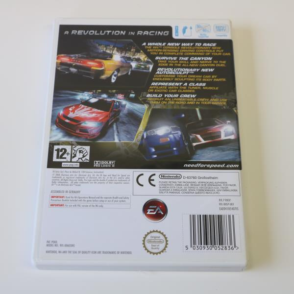 Details about NEED FOR SPEED NFS CARBON - NINTENDO WII GAME - VGC