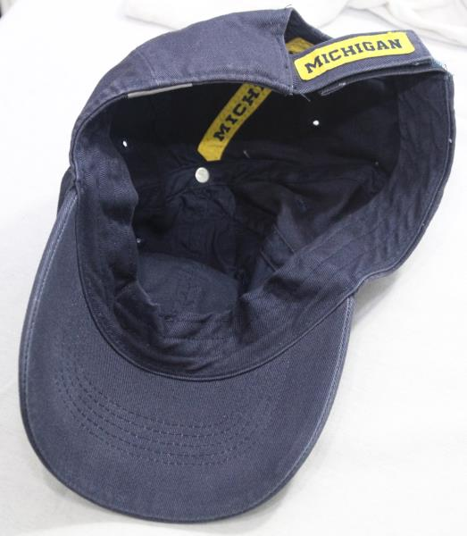Michigan Wolverines Nike Team Hat Strapback Cap Youth 1 Size Navy ... 3f291fe68471