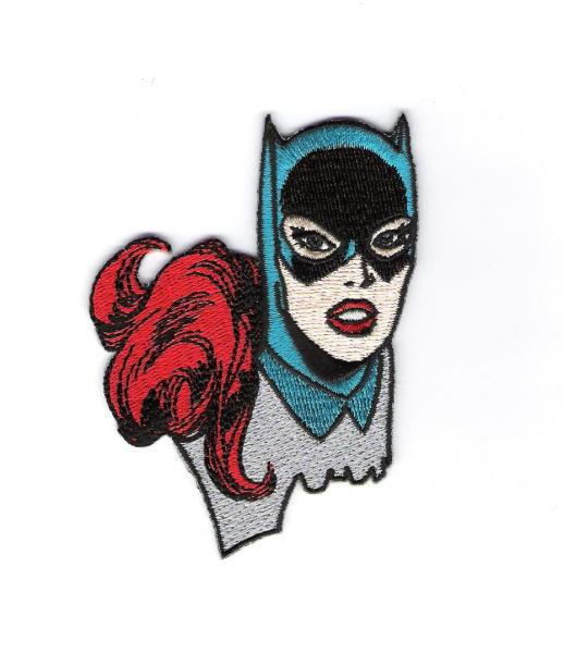 Batman Die cut Logo Embroidered Iron On Patch dc comics robin