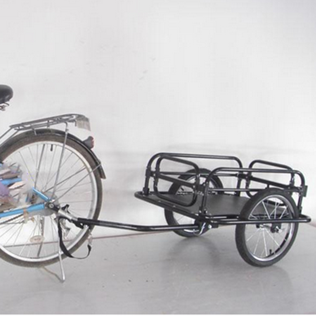 two wheel foldable bicycle bike trailer luggage barrow baggage car cargo  trailer Sporting Goods Cycling Bicycle Accessories