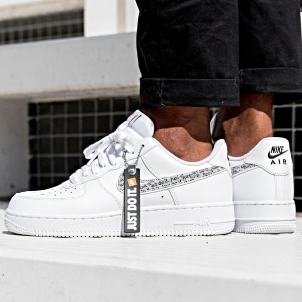Details about KID'S NIKE AIR FORCE 1 LV8 (PS( BLACK JUST DO