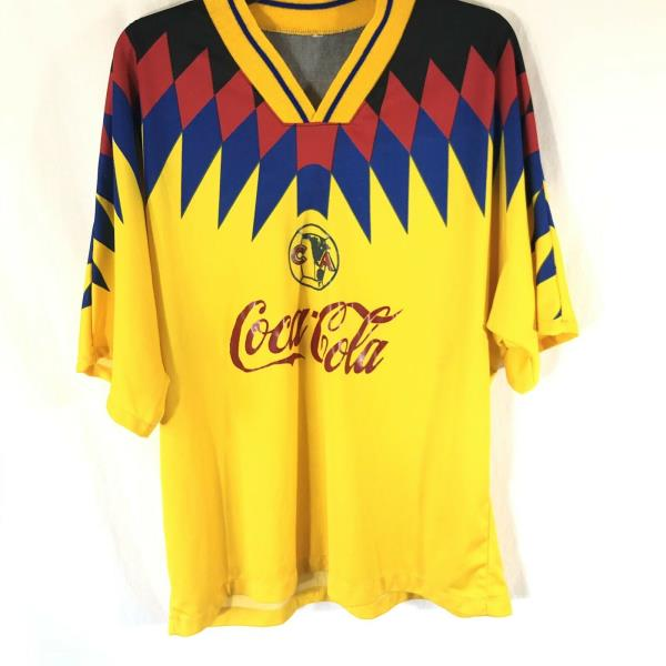 528b17d33 Club America Men s Soccer Jersey Coca Cola XL No Tags