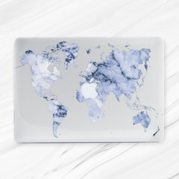 World map winter marble hard case cover for macbook pro air retina world map winter marble hard case cover for macbook pro air retina 11 12 13 15 gumiabroncs Choice Image