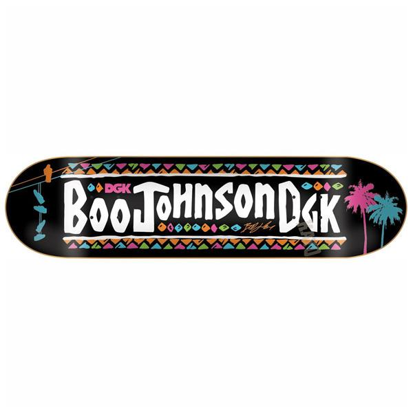 DGK Skateboard Deck Boo Johnson Mookie 8.25 FREE GRIP POST Dirty Ghetto Kids