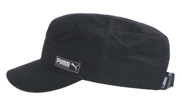 b418e7ace Details about PUMA Military Caps Hat Sports Unisex Black Casual Tennis  Head-wear Cap 02191401