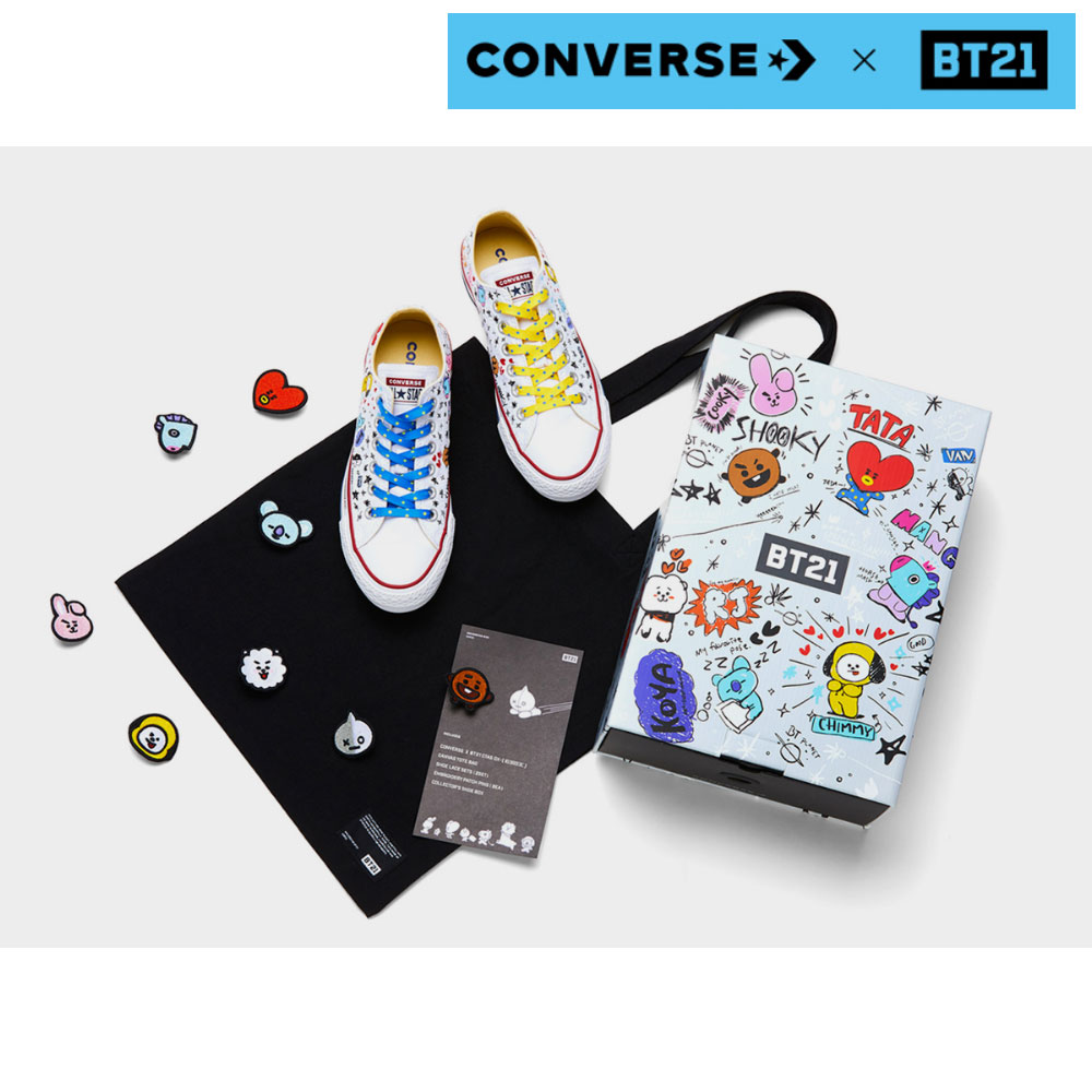 converse shoes bt21