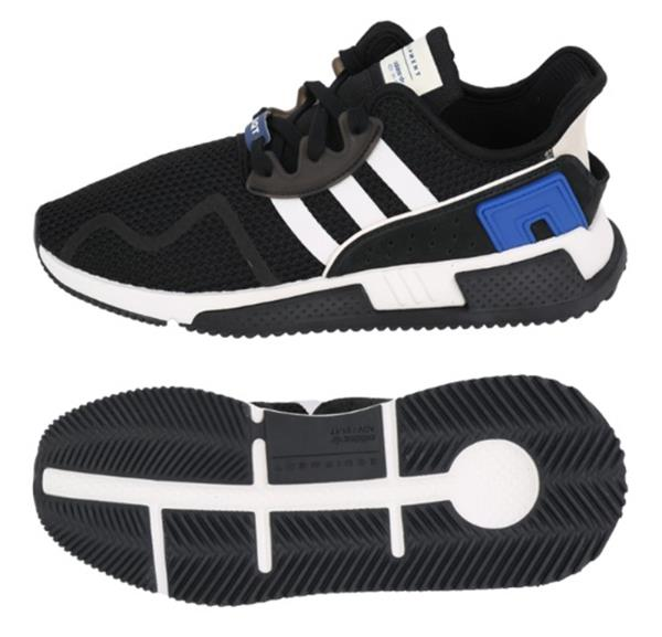 the latest a9973 4d724 Details about Adidas Men Originals EQT Cushion ADV Shoes Running Black  Sneakers Shoe CQ2374