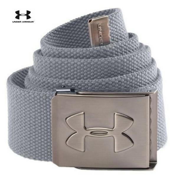 229865f95d Details about Under Armour UA Men's Webbing Golf Belt-Pick Color STEEL GREY  OSFA STYLE UA 2132