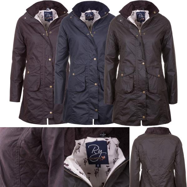 Rydale Mens Classic Wax Jacket