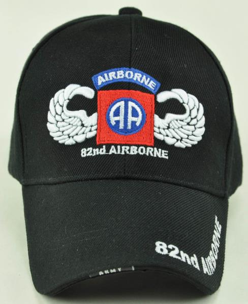 720f72f7401 NEW! US ARMY PARATROOPER 82nd AIRBORNE S1 WING CAP HAT