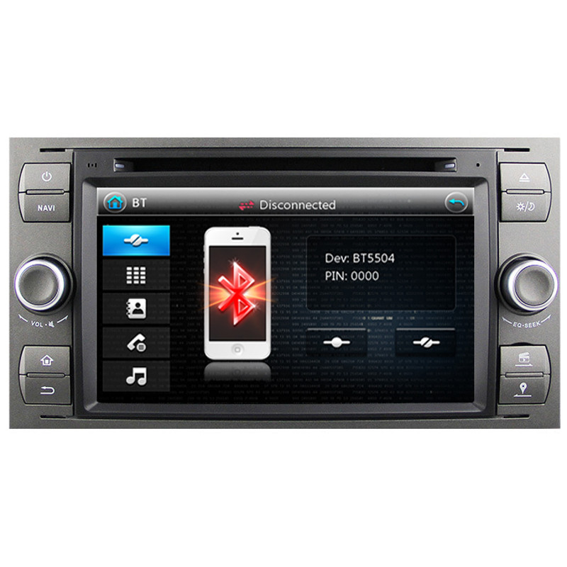 direct fit head unit gps radio sat nav dvd bluetooth. Black Bedroom Furniture Sets. Home Design Ideas
