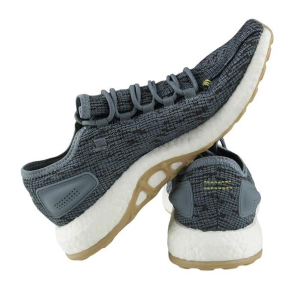 Details about Adidas Men Pure Boost Training Shoes Gray White Running Sneakers Shoe CM8298