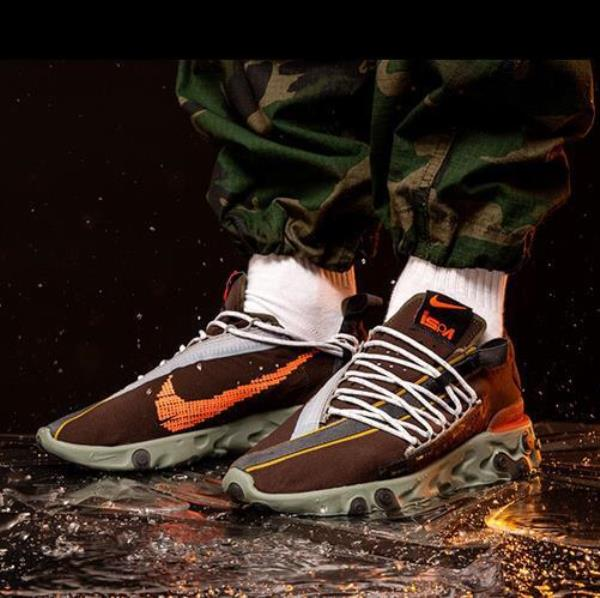 Details about Nike Sportswear React Wr Ispa Brown Size 8 9 10 11 12 Mens  Shoes Ar8555-200