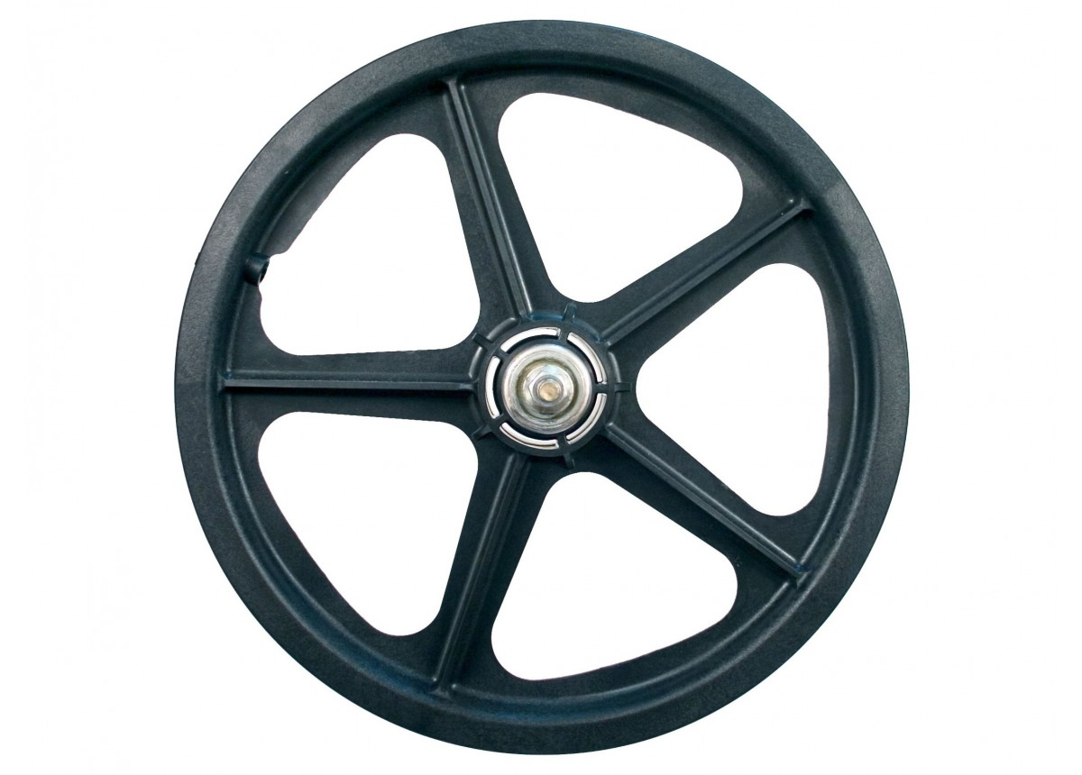"16/"" Skyway Tuff Wheel 2 Mag WHEEL SET Black 16/"" rear Freewheel BLACK WHEELSET"