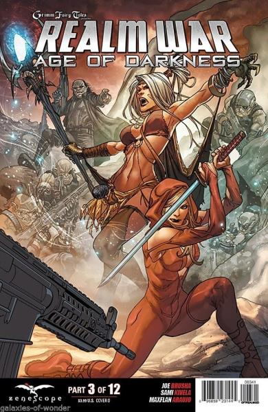 Grimm Fairy Tales Realm War Age of Darkness 8 Cover C