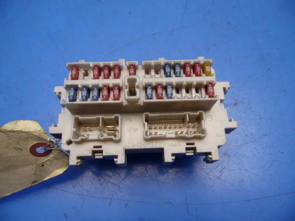 03-06 infiniti g35 oem in-dash fuse box w/ fuses & relays 4 door sedan
