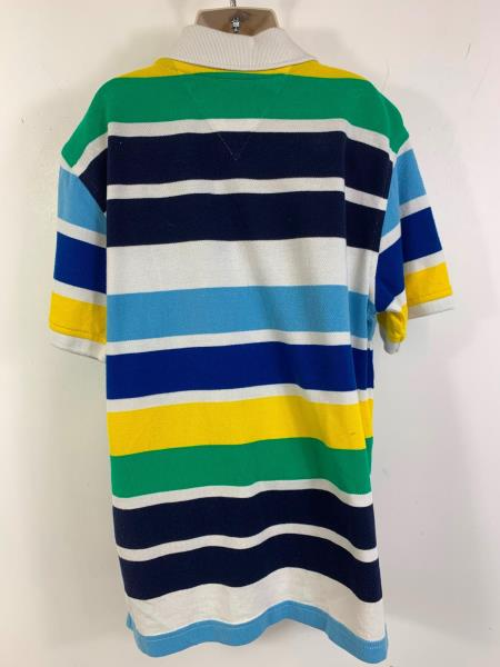 Details about BOYS TOMMY HILFIGER STRIPED CASUAL SHORT SLEEVE POLO SHIRT KIDS AGE 8 10 YEARS