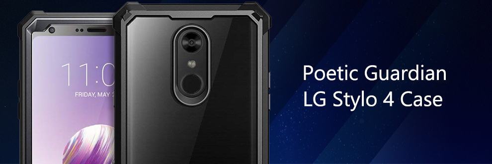 For LG Stylo 4 Case PK POETIC【Guardian】with Built-in