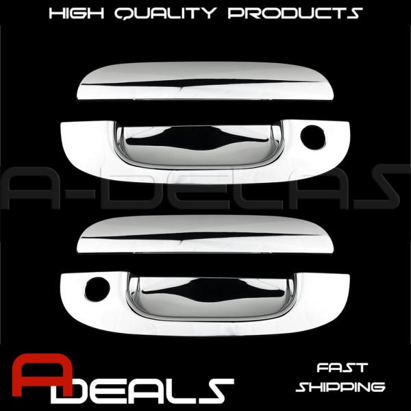 FOR DODGE RAM 1994-2001 CHROME DOOR HANDLE COVER