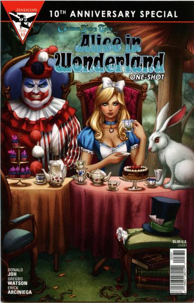 Details about Grimm Fairy Tales : Alice In Wonderland One-Shot (C cover) ~  Zenescope