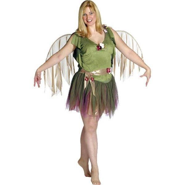 buy good outlet low price Details about Adult Plus Size Green Fairy Costume