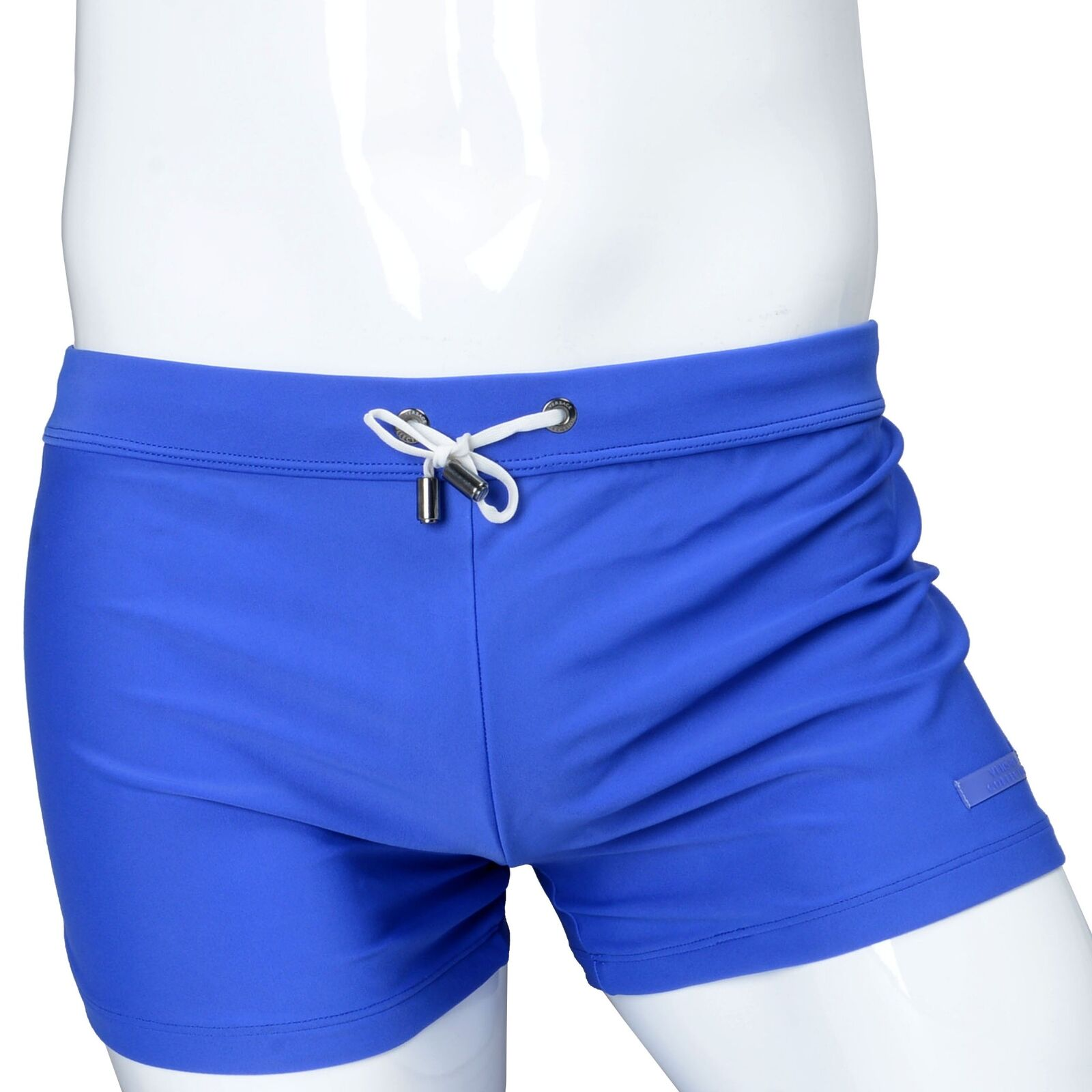a8fc71a256 Details about Versace Collection Blue Drawstring Men's Swimming Shorts
