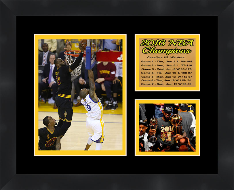 Cleveland Cavaliers LeBron James Framed NBA Photo Poster 11X14 ...