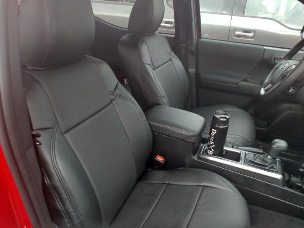 Excellent Details About Clazzio Pvc Synthetic Leather Custom Seat Covers For 2016 2019 Toyota Tacoma Caraccident5 Cool Chair Designs And Ideas Caraccident5Info