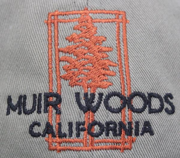 cd4a98a60 NWOT Muir Woods National Monument California Redwood Forest Hat ...