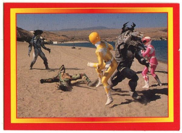 C1380 The Crystal Of Power #80 Power Rangers 1995 Merlin Trade Card