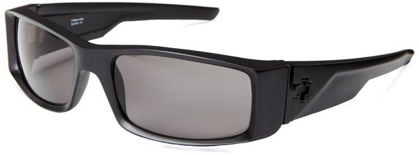 5f91a392a9 Details about  670375374135  Spy Optic Hielo Wrap Sunglasses - Matte Black    Gray Polarized