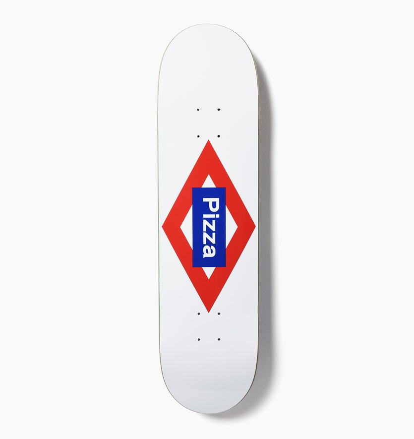 Pizza Skateboards Deck Sol 8.125 RRP 119 FREE POST & GRIP