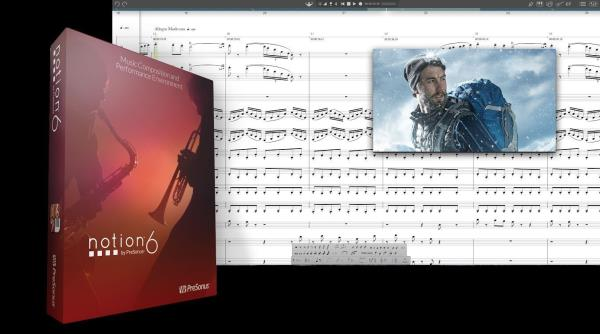 Details about New PreSonus Notion 6 Music Notation Software Boxed Version  for Mac PC
