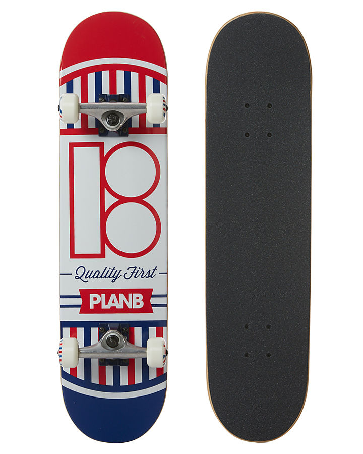 Plan B Skateboard Complete Team Quality 7.75 FREE POST
