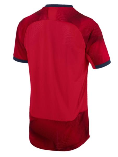 4384bb63d Puma Men Arsenal FC Graphic S S T-Shirts Red White Soccer Tee Jersey ...