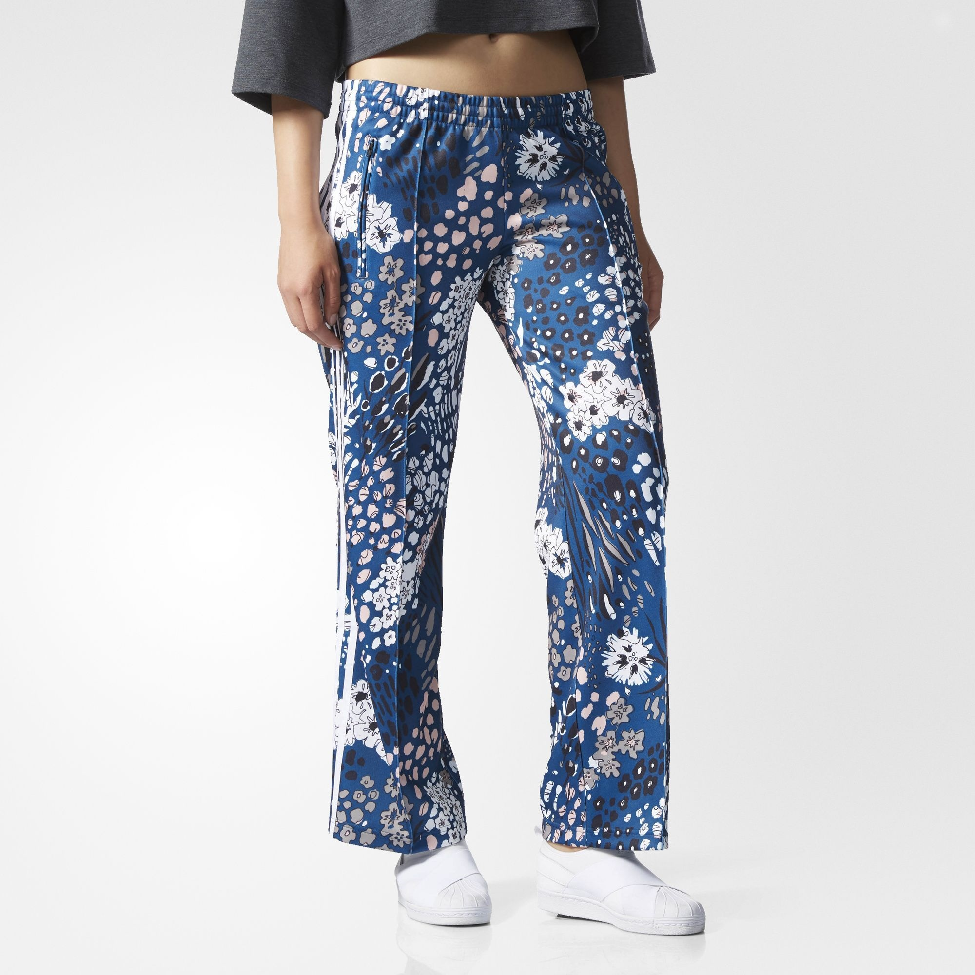 fdfe8299b5e adidas Originals Womens Floral Sailor Track Pants Trousers | AY6685. All  sizes listed are UK. See sizing tab below for conversions.
