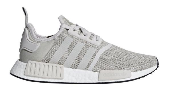 innovative design 4caea 1851d B76079 Mens Adidas Originals NMDR1 Running Sneaker - Sesame Grey White