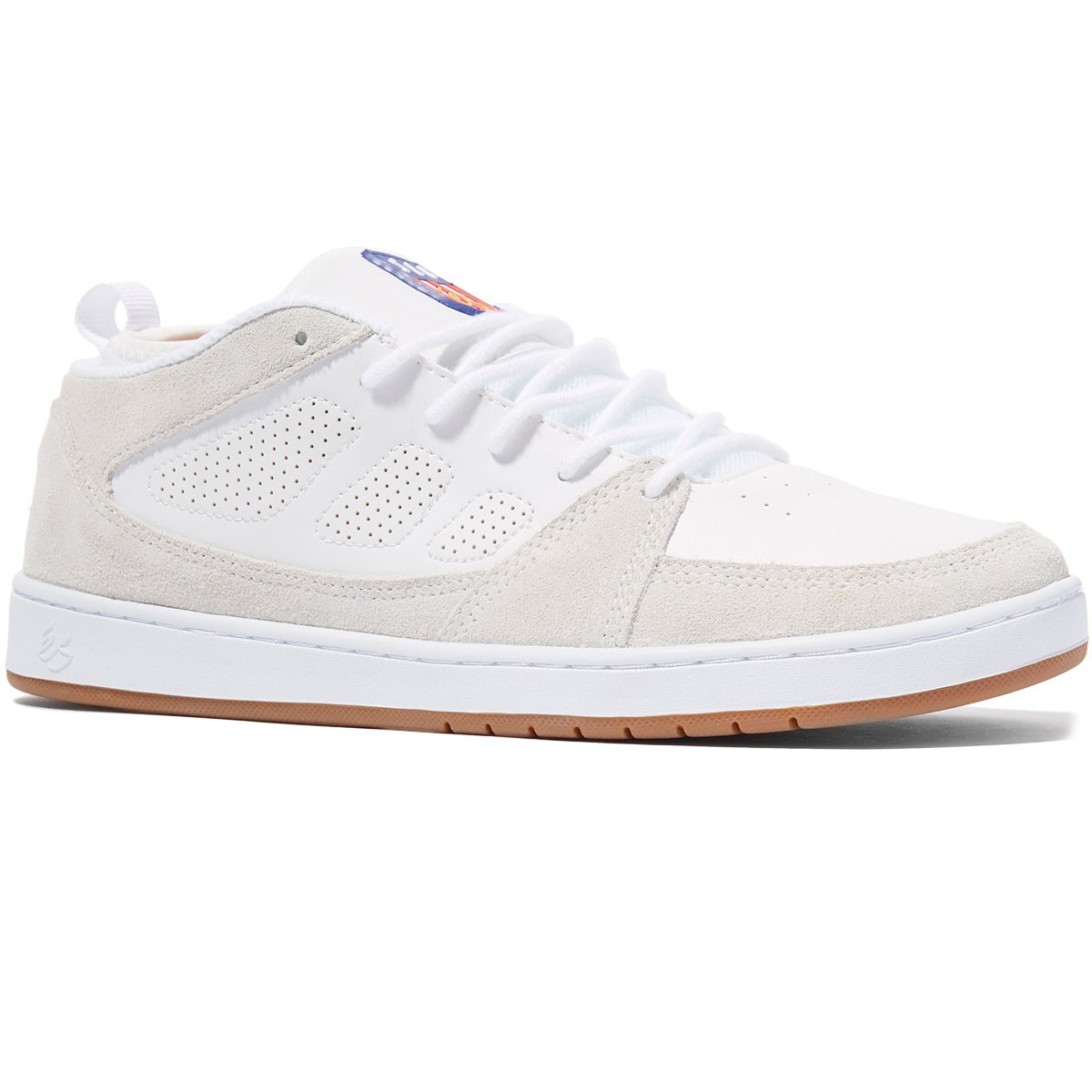 eS Shoes SLB MID White USA SIZE RRP 129 Skateboard Sneakers Salvador Barbier free post