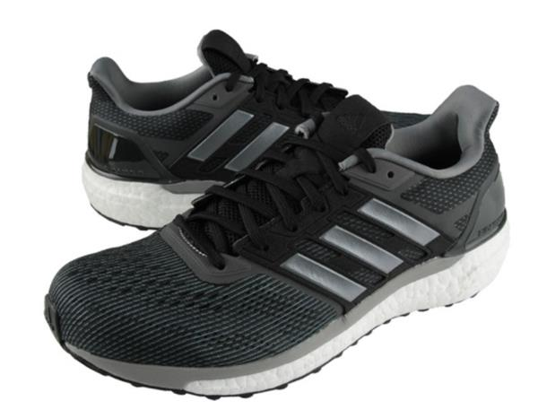ef341bca6 Adidas Men Supernova Training Shoes Running Black Gray Sneakers GYM ...